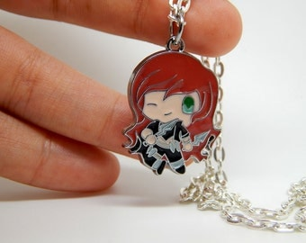 Katarina Necklace - FREE SHIPPING - League of Legends - LOL - pendant jewelry gift game - the Sinister Blade