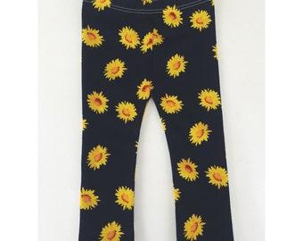 Sunflower Leggings baby kids pants fashion