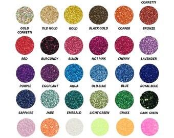 Siser Glitter heat transfer vinyl pack make your own 10 piece pack or pick All 39 colors