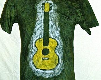 Batik Guitar T-shirt