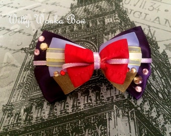 Willy Wonka Inspired Bow