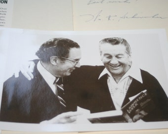 Lawrence Welk An American Institution by William K Schwienher, Signed Copy and Photo