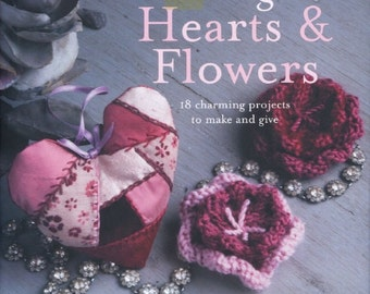 Vintage hearts and flowers Magazine, ebook Pattern, Instant Download, PDF (RM024)