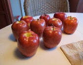 Nine Decorative Apples