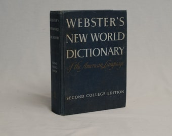 Webster's NEW WORLD Dictionary of the American Language, Second College Edition, 1970,