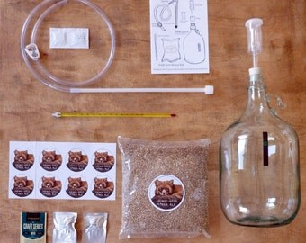 Bright-Eyed Amber Ale - Craft Beer Starter Kit - Beer Making Kit - Home Brewing Kit