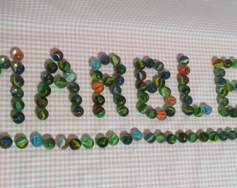Vintage Cats Eye Marbles 0ver 100