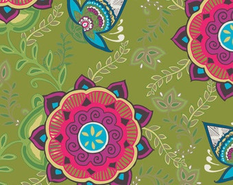 Kansesh Blooms for Memories of Kandesh by Art Gallery Fabrics