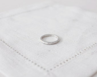 faceted ring. - thin