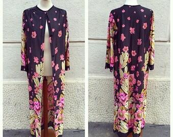 70s Nylon Overcoat Size M/L