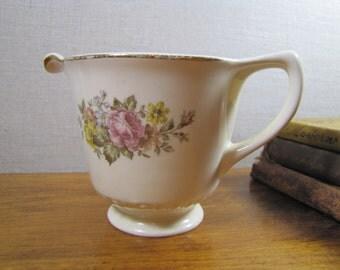Homer Laughlin / Cunningham & Pickett, Inc. -  Hand Decorated Strattford Creamer