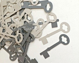 Keys Die Cuts, Keys Confetti