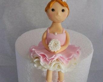 Fondant Ballerina Cake Topper