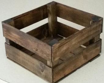 Custom Wooden Crate Display storage