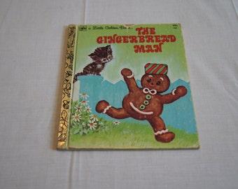 Vintage 1978 - Little Golden Book The gingerbread man, Illustrated by Elfreda