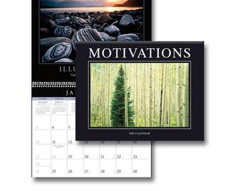 2016 Spiral Bound Motivations Calendar