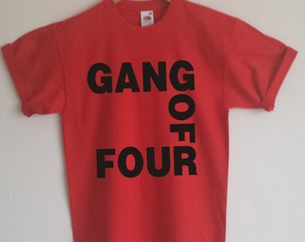 Gang of Four T-shirt, Post Punk/New Wave, All Sizes/Colours