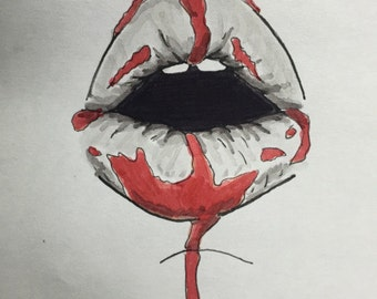 Bloody Mouth #1