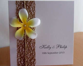 Frangipani Invitation - Perfect for any occasion