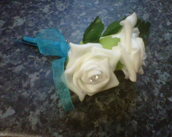 page boy corsage & 2 double corsage package