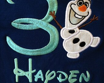 Snowman With Name and Age