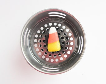 Sink Strainer, Drain Plug, Candy Corn, Candy Decor, Halloween Decor, Fall Decor, Autumn Decor, Halloween Item, Candy Decor, Water Plug