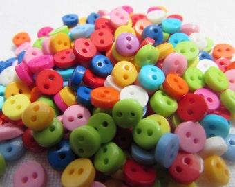 Mini Tutti Frutti Dolls Buttons