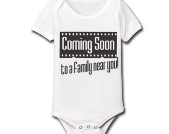 Coming Soon To A Family Near You Baby One Piece CL0074