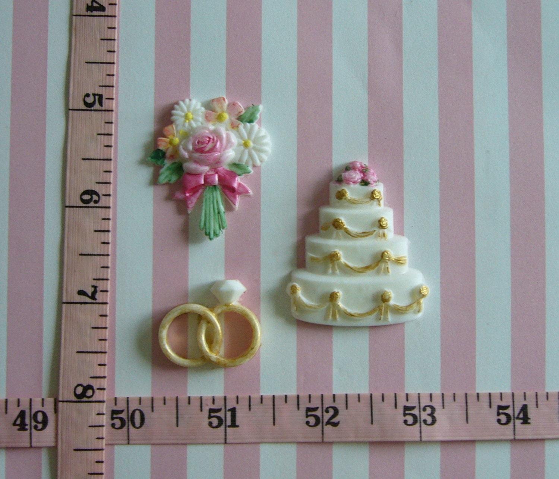 Wedding Cake Bouquet Wedding Rings Diamond Ring Silicone