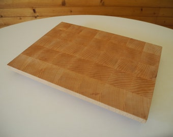 Cutting board, beech wood.