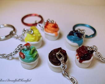 Frozen Yogurt Key Chain