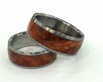 Amboyna Ring