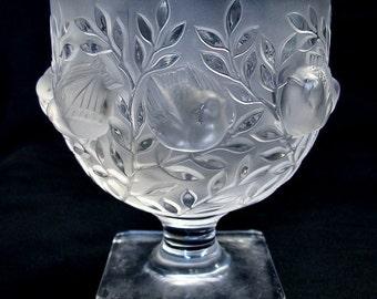 Hoffman Malachite Glass Perfume Bottle Czech By Thisartgallery