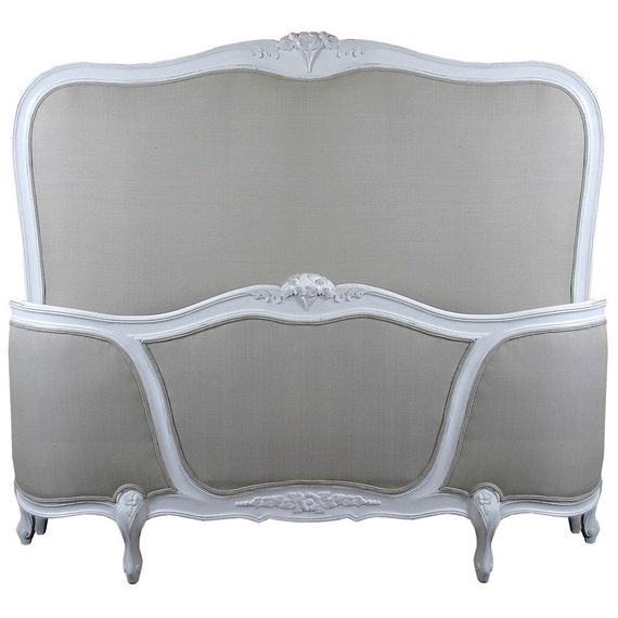 French Bed Louis XV Farmhouse Provincial by FabulousandFrench