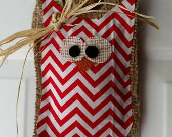 Cuty hoot-hooty, owl door hanger.