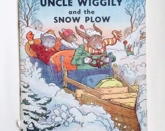 1939 Uncle Wiggily and the Snow Plow