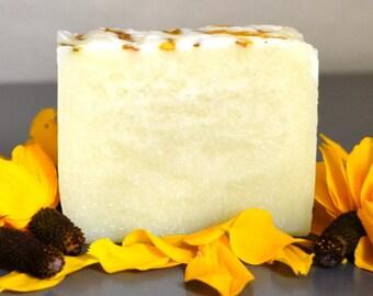 Unscented Soap, Handmade Soap, Bar Soap, Vegan Soap, Cold Process Soap, Plain Soap, Fragrance Free Soap, All Natural, No Color Added