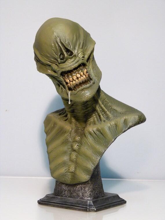Alien Xenomorph Inspired Bust Biomechanical Giger Horror