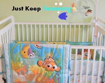 Finding Nemo Nursery Decor Finding Nemo Decor Finding Nemo Quote Under The Sea