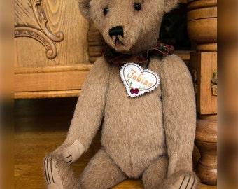 "Tobias, 19"" OOAK Mohair Artist Bear by Patricia Bruce Bears"