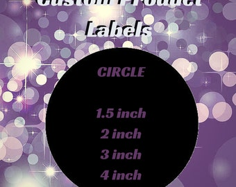 Custom Product Label Circle/Beauty Product Labels/Jar Labels/Custom Logo Label/Business Label/Product Stickers/Custom Product Branding