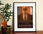 Reservoir Dogs Minimalist Movie Poster. Modern Art Print.