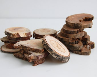 Tree Branch Slices, Different Wood Slices, DIY Project , Craft Wood Slices, Wood Supplies, Wooden Tags