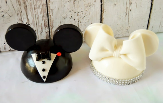 items similar to mickey and minnie mouse wedding cake