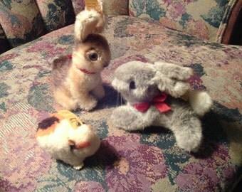 Free Shipping.. Steiff Running Bunny