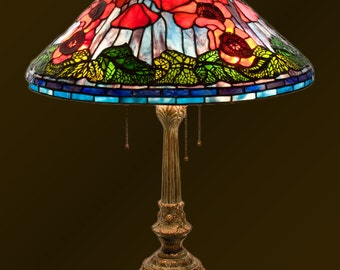Red Poppy lamp