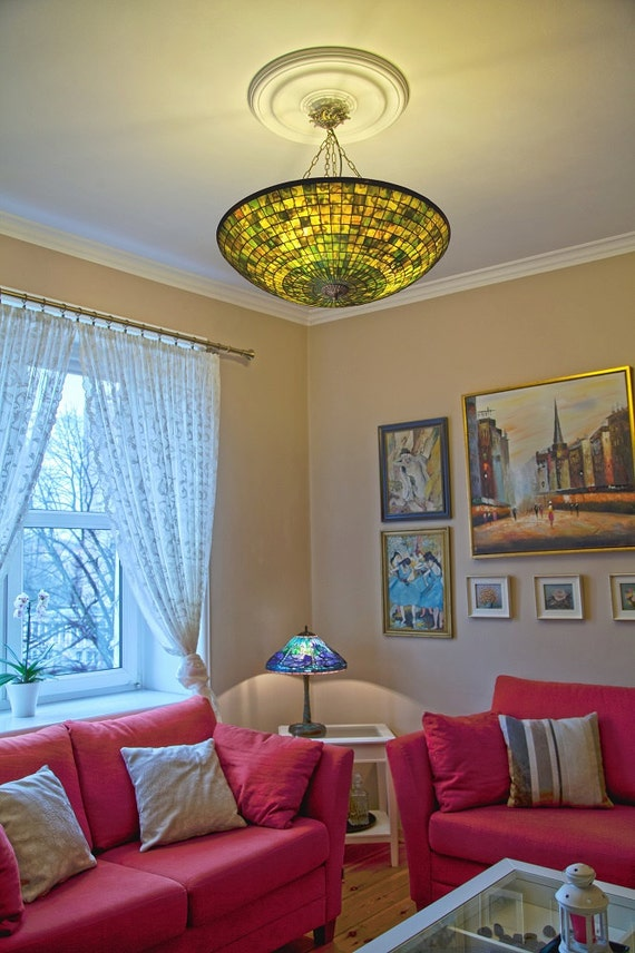 Ceiling Light, Chandelier Lampshades, Pendant Light, Stained Glass Lamp Shade, Ceiling Lighting, Ceiling Lamp, Pendant Lamp, Lamp Shade