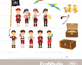 Pirate clipart, digital images pirate, pirate party, pirate party, providing creative pirate theme pirate, anniversary, digiscrapbooking