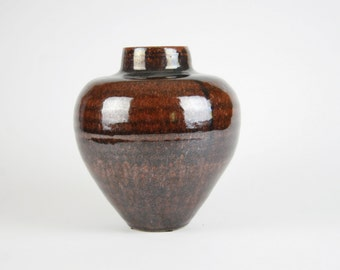 Tenmoku Flower Pot