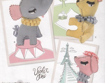 Simplicity 2202 Felt Decorative Animals Sewing Pattern - Home Decor Sewing Pattern - Uncut Sewing Pattern - Craft Sewing Pattern